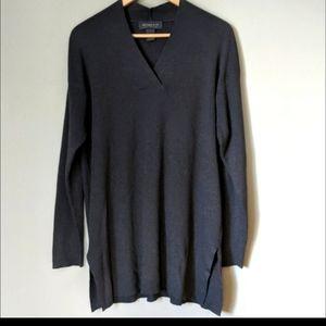 Lane Bryant Designs and Co Split Hem Long Sweater